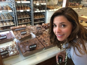 Uh oh, Katie found the local Fudge!